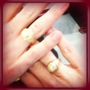 A&M ring pic with Kate maroon border