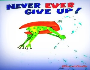 Never give up 2012 picmonkey