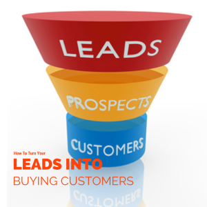 Leads into Buying Customers with Text