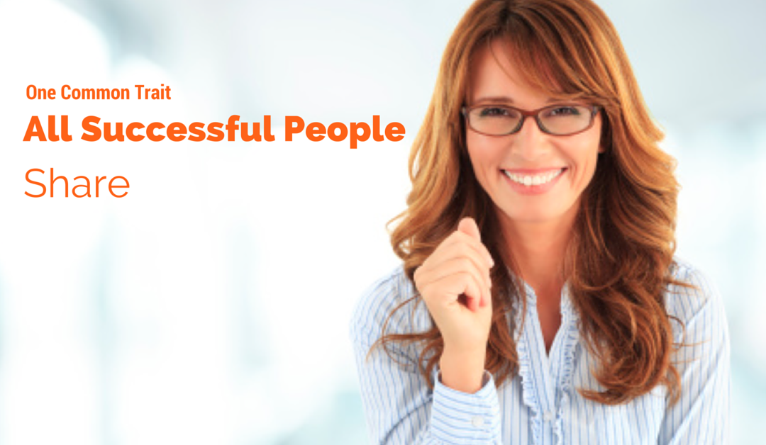 One Common Trait All Successful People Share